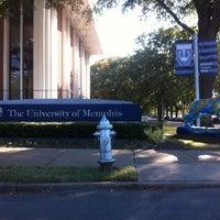 Photo taken at University of Memphis by Kayla G. on 10/22/2011