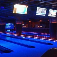 Photo taken at Lucky Strike Lanes by Jake S. on 3/17/2012