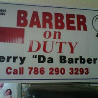 Photo taken at Get Down Barber Shop by Gerald L. on 4/17/2012