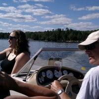 Photo taken at Pickerel lake by Brianne B. on 8/14/2011