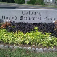 Photo taken at Calvary United Methodist Church by T Lee H. on 10/2/2011