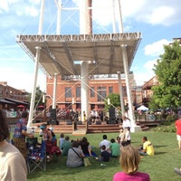 Photo taken at American Tobacco Campus by LaRhonda D. on 6/9/2012