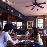 Photo taken at Carriage House Cafe by Ella G. on 7/23/2011
