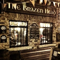 Photo taken at The Brazen Head by Tarek P. on 4/19/2012