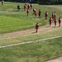 Photo taken at Metalik Stadium by Ivaylo S. on 4/26/2012