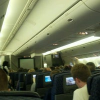 Photo taken at AA Flight 78 - DFW to LHR by Chris W. on 5/4/2012