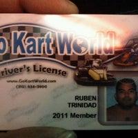 Foto scattata a Go Kart World da Ruben B. il 9/26/2011