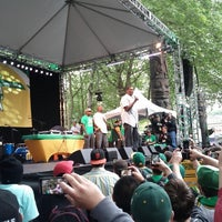 Photo taken at Seattle Supersonics Park by Quoc T. on 6/15/2012