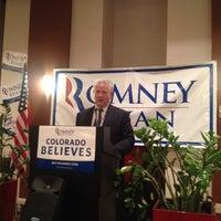 Photo taken at Colorado Delegation HQ by Tim J. on 8/29/2012
