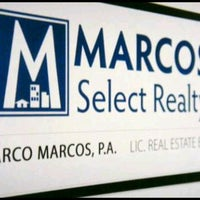 Photo taken at Marcos Select Realty by Marco M. on 2/29/2012