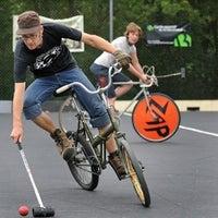 Photo taken at Bike Polo Pit by MetroFocus on 3/15/2012