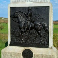 Photo taken at 9th New York Cavalry monument by CJ W. on 10/16/2011