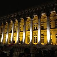 Photo taken at Palais Brongniart (Ancienne Bourse de Paris) by Andrew M. on 1/8/2012