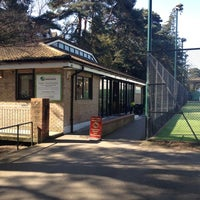 Photo taken at Bournemouth Gardens Tennis Centre by 👸 Teresa Tregonwell T. on 4/5/2012
