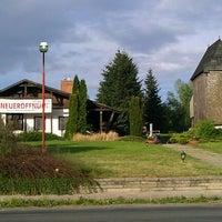 Photo taken at Mühlenbaude by Denis P. on 5/9/2012