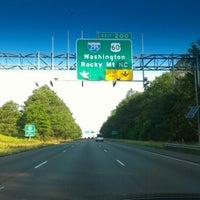 Photo taken at I-295 Exit 28/I-64 by David C. on 6/10/2012