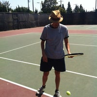 Photo taken at Mar Vista Park Tennis Courts by Paul M. on 8/4/2012