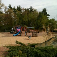 Photo taken at Stepping Stones Playground by Heather K. on 5/5/2012