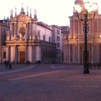 Photo taken at Piazza San Carlo by Pat Pattina B. on 3/27/2012