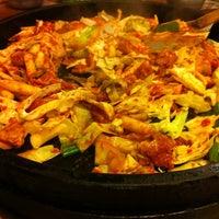 Photo taken at 구명동닭갈비 by 형석 윤. on 10/29/2011