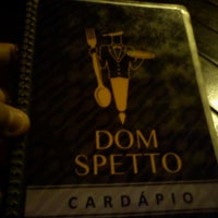 Photo taken at Dom Spetto by Fernando V. on 10/31/2011
