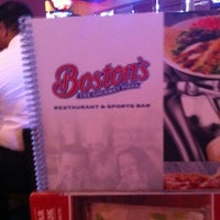 Photo taken at Boston's Restaurant & Sports Bar by Jason T. on 7/21/2011