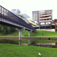 Photo taken at Riverside walk by Andreas K. on 1/17/2012