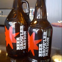 Photo taken at Beer Growler Nation by BeerGeekATL E. on 9/7/2012