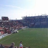 Photo taken at Nou Estadi by Oscar L. on 3/31/2012