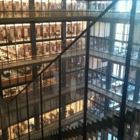 Photo taken at NYU Bobst Library by Lauren L. on 9/2/2011