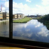 Photo taken at Djanogly Learning Resource Centre by Qian H. on 10/6/2011