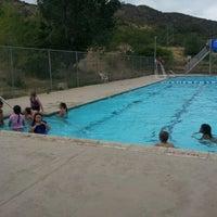 Photo taken at Bisbee Pool by Kisha A. on 6/16/2012