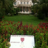 Photo taken at Musée Masséna by Christophe A. on 9/5/2012