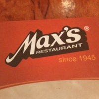 Photo taken at Max's Restaurant by Christopher T. on 7/29/2012