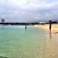 Photo taken at アラハビーチ by ushigyu on 6/14/2012