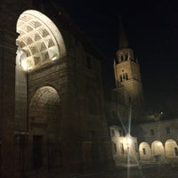 Photo taken at Piazza Leon Battista Alberti by Andy on 7/30/2012
