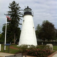 Photo taken at Concord Point and Lighthouse by Todd S. on 10/1/2011