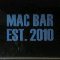 Photo taken at MAC Bar by Justin L. on 2/21/2011