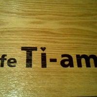 Photo taken at Caffè TIAMO by Tommy L. on 10/17/2011