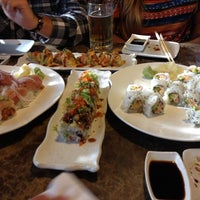 Photo taken at Sumo Sushi by Christina S. on 6/4/2012