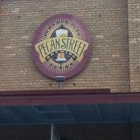 Photo taken at Pecan Street Brewing Co. by Tyler N. on 7/6/2012