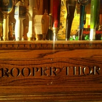 Photo taken at Trooper Thorn's Irish Beef House by Bruce F. on 11/18/2011