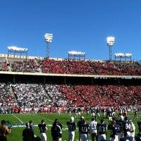 Photo taken at Cotton Bowl by Lisa J. on 1/2/2012