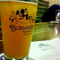 Photo taken at Burnside Brewing Co. by Kyle K. on 1/28/2011
