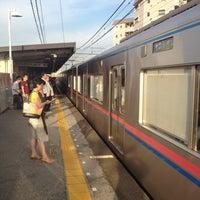 Photo taken at Keisei Sekiya Station (KS06) by yuichi o. on 7/27/2012
