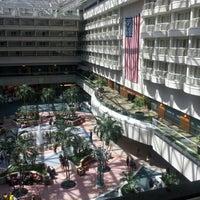 Photo taken at Hyatt Regency Orlando International Airport by Keems H. on 8/16/2012