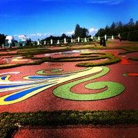 Снимок сделан в Дворцово-парковый ансамбль «Ораниенбаум» пользователем Aliona O. 7/3/2012