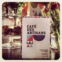 Das Foto wurde bei Café des Artisans von EASYJAVIER am 3/15/2012 aufgenommen