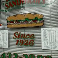 Photo taken at Freddie's Sandwiches by Paris D. on 11/18/2011