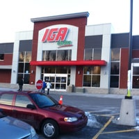 Photo taken at IGA Extra by Karl S. on 2/20/2011